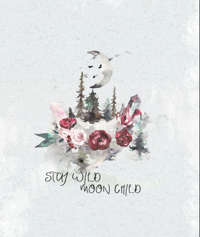 Stay Wild Moon Child Panel
