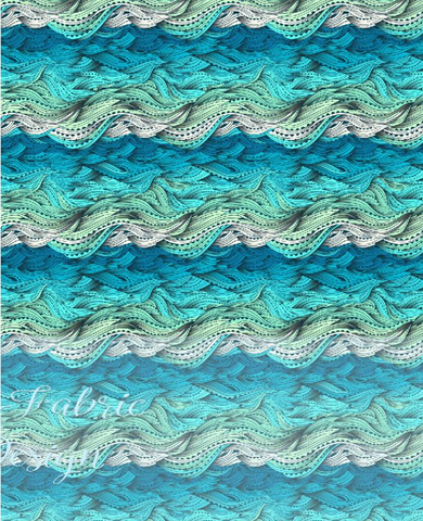 Waves- Cotton Lycra