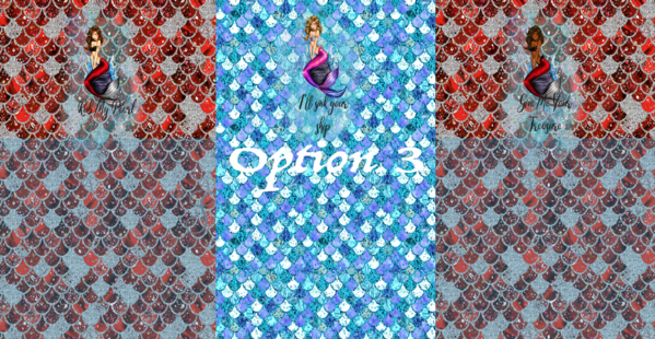 Mermaid Option 3 - Panty Panel Set