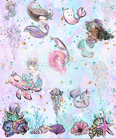 Mermaid Babes - Floof Topper