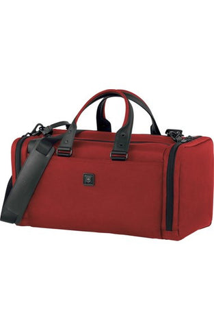 'Lexicon - Sport Locker' Small Travel Duffel Bag in Red