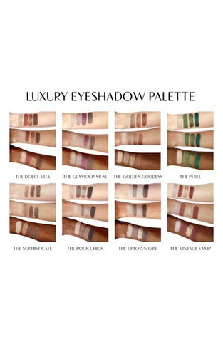 'Luxury Palette - The Glamour Muse' Color-Coded Eyeshadow Palette