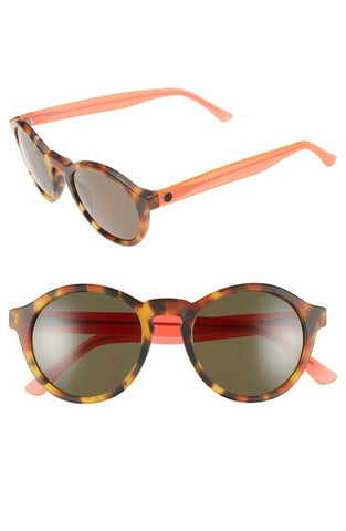 'Reprise' 50mm Round Sunglasses