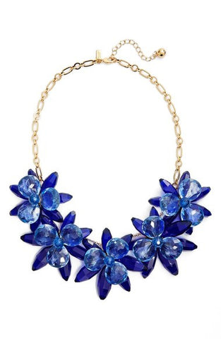 'Blooming Brilliant' Statement Necklace