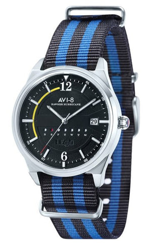 'Hawker Hurricane' Nato Strap Watch, 38mm