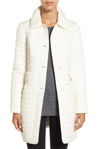 Kate Spade Water Resistant Quilted Down Coat