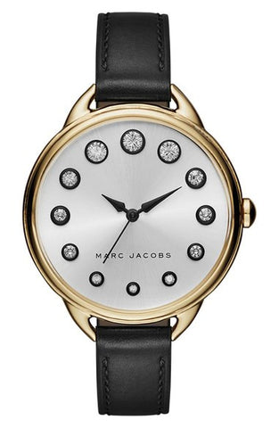 Marc Jacobs 'Betty' Leather Strap Watch, 36mm