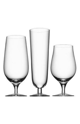 'Beer Collection' Glasses (Set of 3)