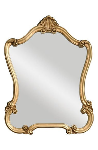 'Walton Hall' Antiqued Goldtone Vanity Mirror