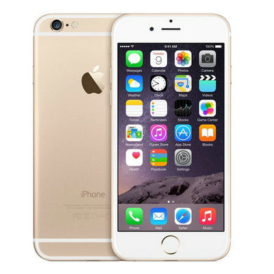 "Unlocked Apple iPhone 6 Refurbished Smartphone 1GB RAM 4.7"" iOS WCDMA 4G"