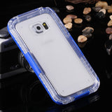Waterproof Transparent Case for Samsung Galaxy S6 /S6 Edge