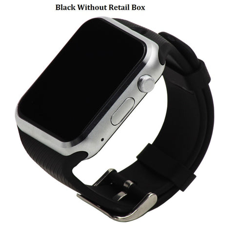 Bluetooth Smartwatch for Android Cells with Camera Support SIM Card