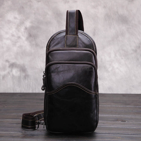 Leather Multi Function Small Messenger Bag/Shoulder Bag
