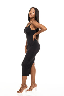 COCO BLACK BODYCON DRESS