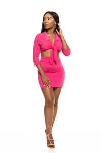 vada online croatia hot pink mini set