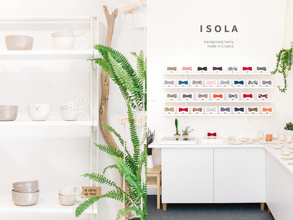 Isola design shop Hvar