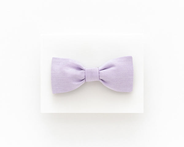 Lilac bow tie