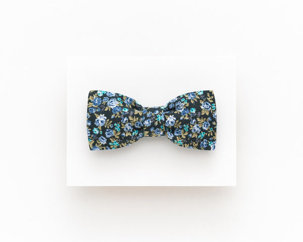 Floral bow tie for men, floral self tie bow tie - Isola bow tie