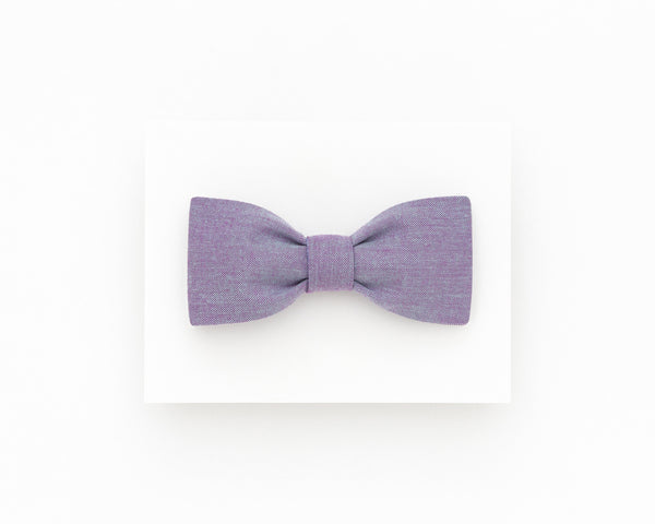 Lavender wedding groom bow tie, lavender summer bow tie - Isola bow tie