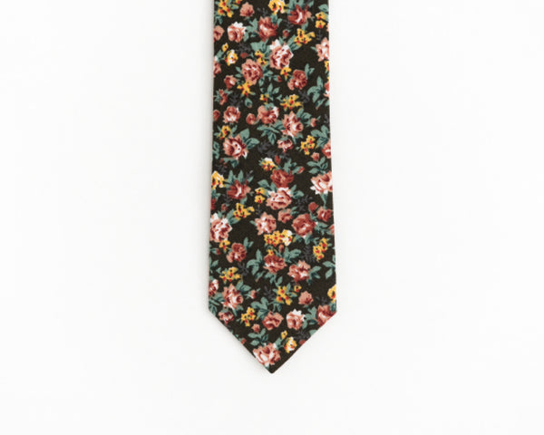 Men's boho tie, vintage wedding tie - Isola tie