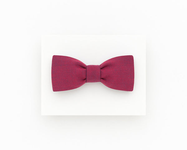 Dark rose men's bow tie, rose wedding groom's bow tie - Isola bow tie