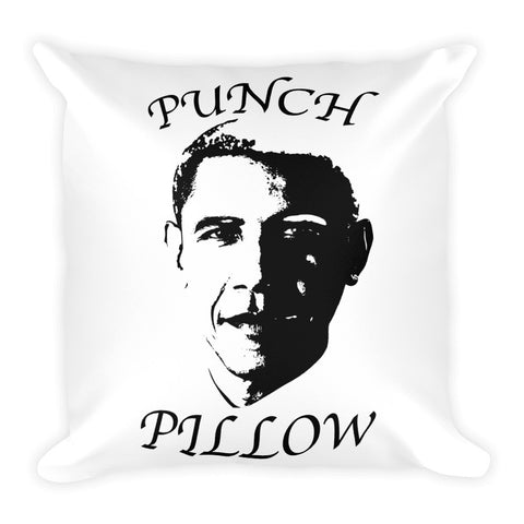 """Obama"" Punch Pillow"