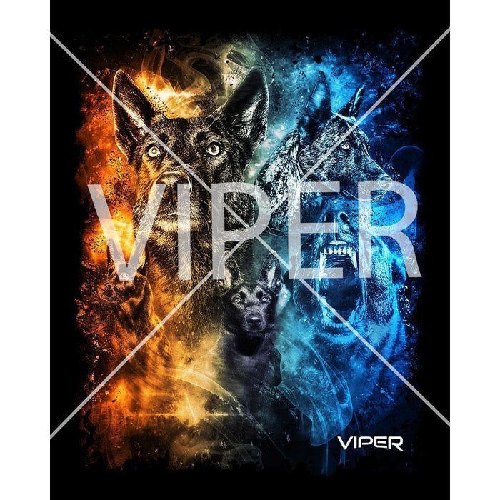 Viper - Dutch Shepherd - Day & Night - Shirt - Design 12