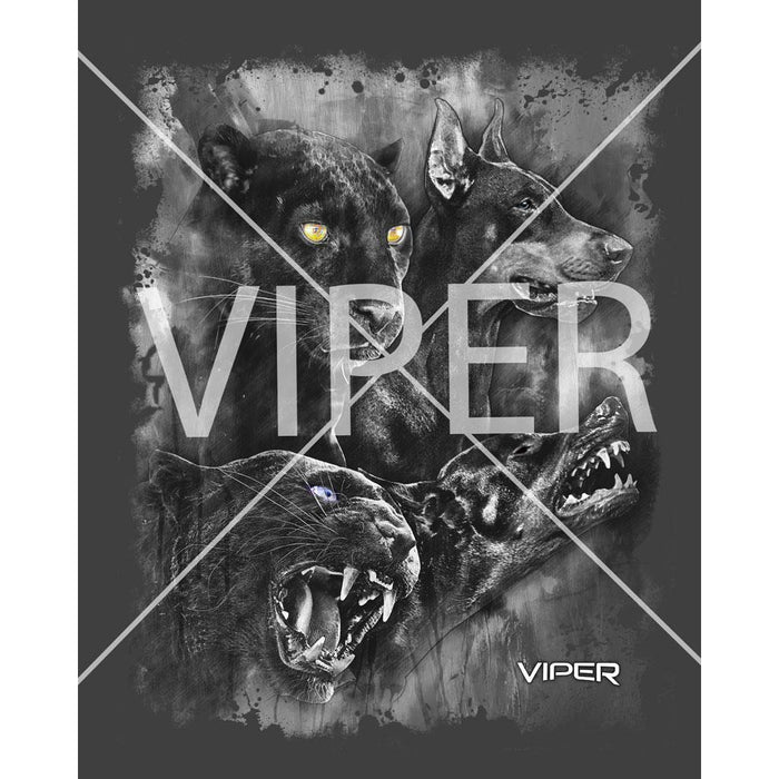 Viper - Doberman & Black Panther - Spirit Animals - Shirt - Design 19
