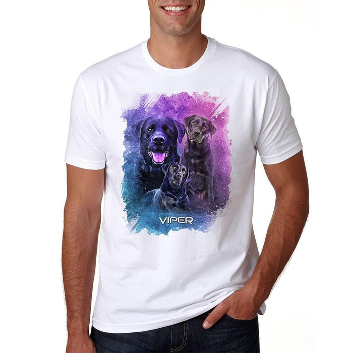 Viper - Black Labrador - Starlight Series - Shirt - Design 26