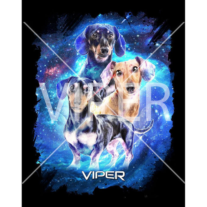 Viper - Dachshund - Starlight Series - Shirt - Design 29