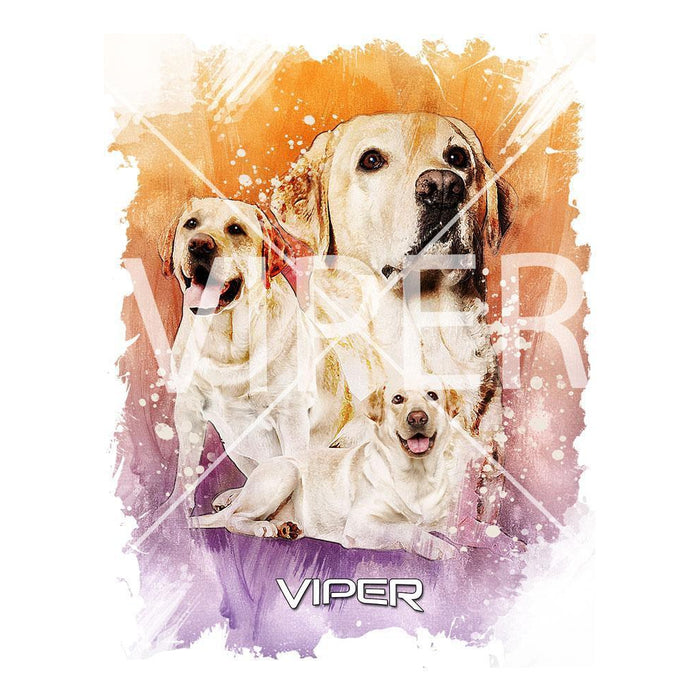 Viper - Yellow Labrador - Starlight Series - Shirt - Design 39