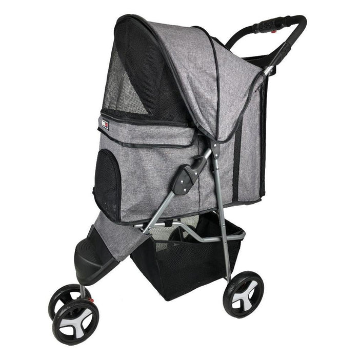 Casual Pet Stroller + Removable Cup Holder