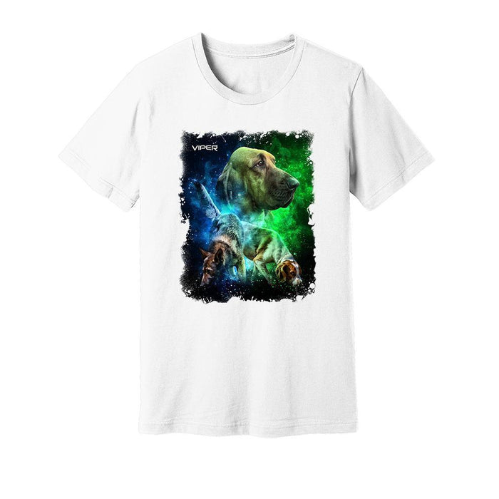 Viper - Tracking Dogs - Blue & Green - Shirt - Design 41
