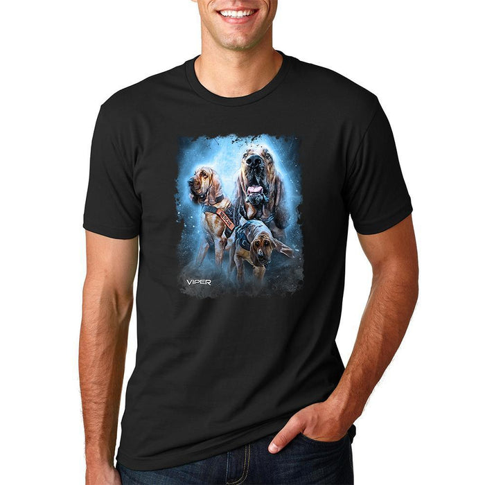 Viper - Search and Rescue - Bloodhounds - Shirt - Design 43