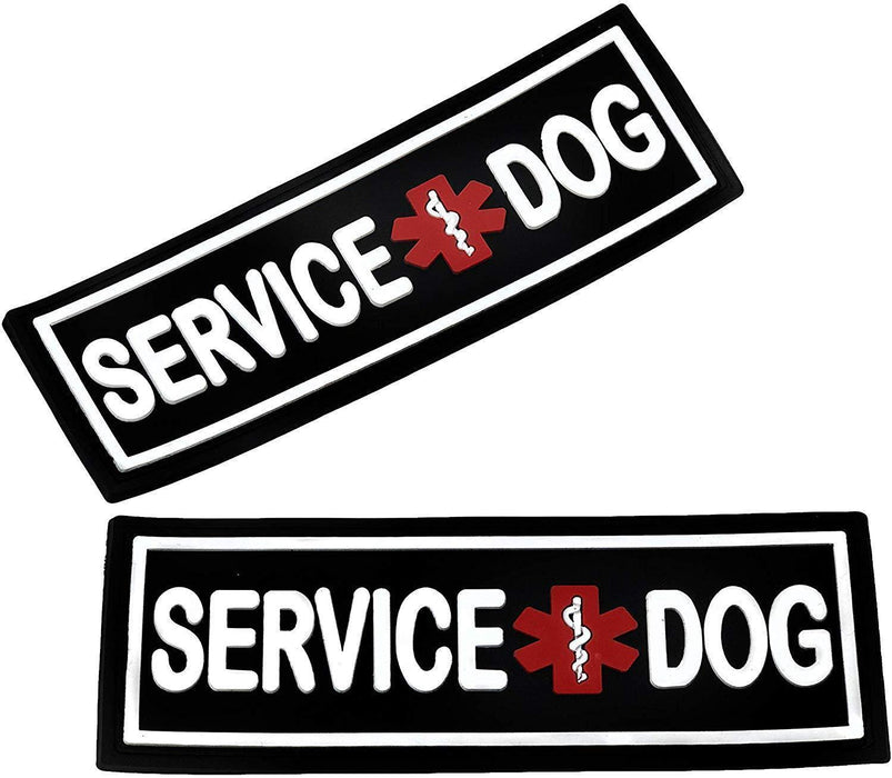 Dogline 3D Rubber Removable Patches for Dog Harness and Vest