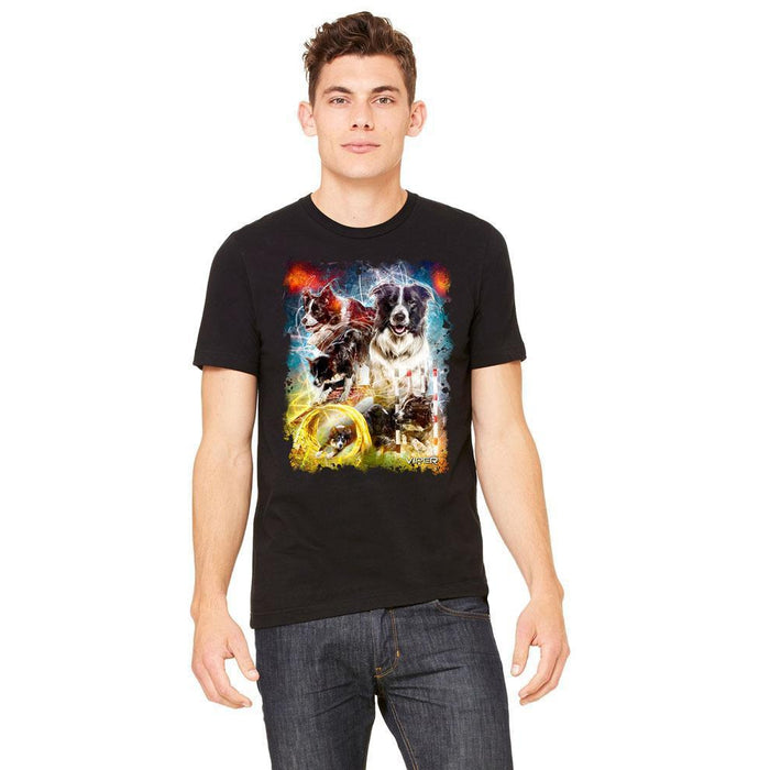 Viper - Border Collie - Energy - Shirt - Design 9