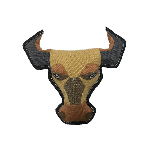 "10"" Nature Bull Animal Squeaky Toy"