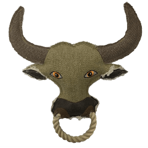 "11"" Nature Cow Animal Squeaky Toy"