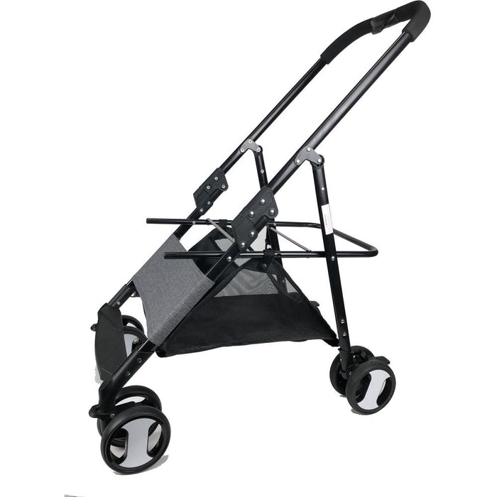 Executive Pet Stroller with a Removable Cradle