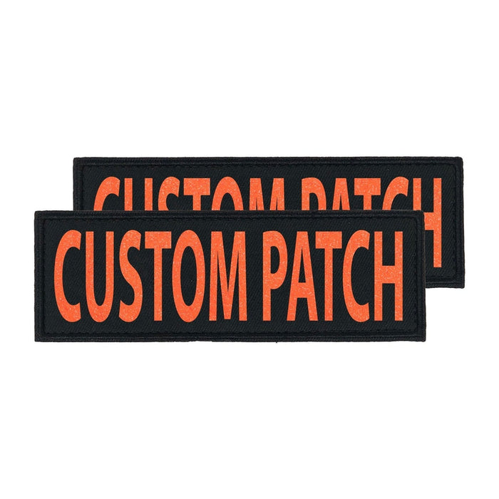 Personalized Removable Patches (Set of 2)