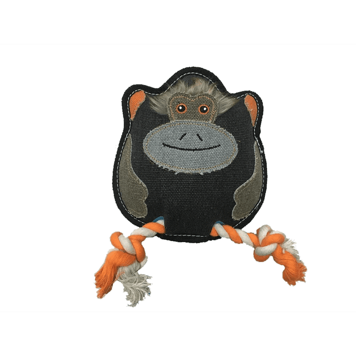 "8"" Nature Monkey Animal Squeaky Toy"