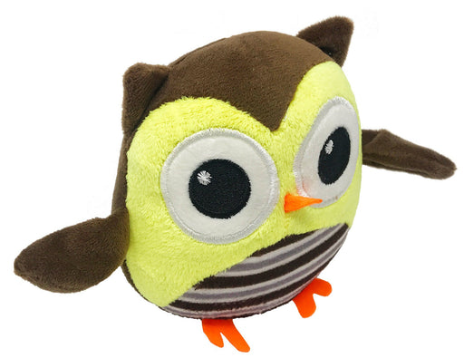 "6"" Owl Mini Dog Toy"