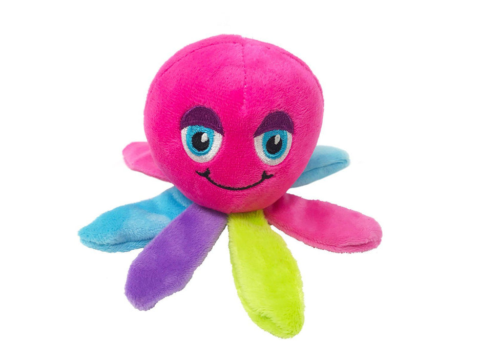 "6"" Octopus Mini Dog Toy"
