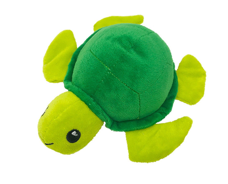 "6"" Turtle Mini Dog Toy"