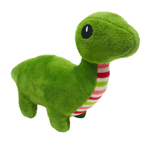 "8"" Dino Mini Dog Toy"