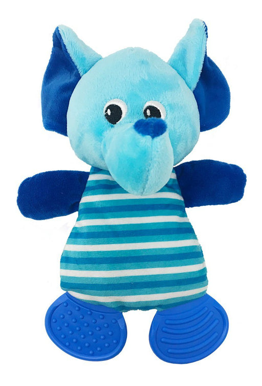 "10"" Elephant Soft Dog Toy"