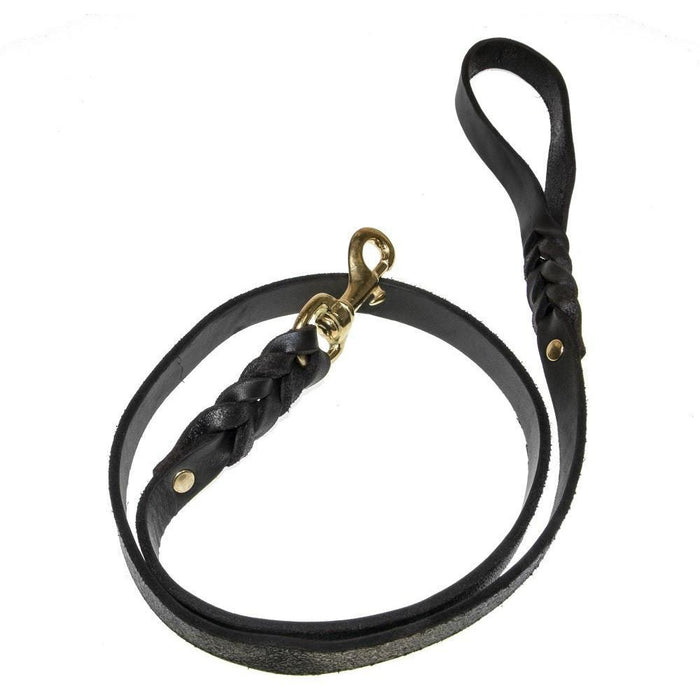 Viper Leather Working Dog Lead