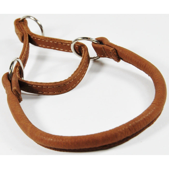 Soft Leather Round Martingale Collar