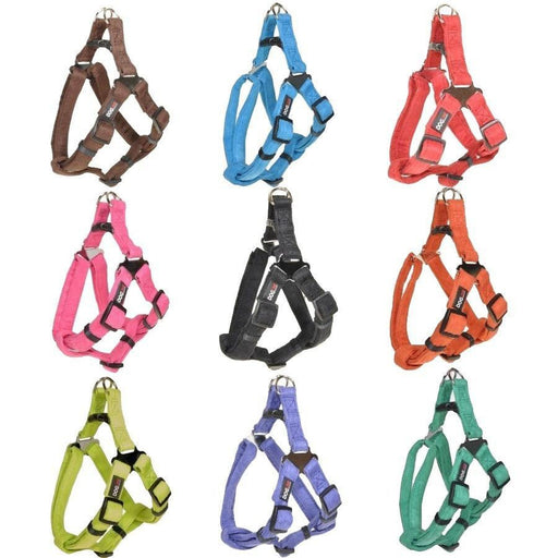 Comfort Microfiber Flat Step-In Harness