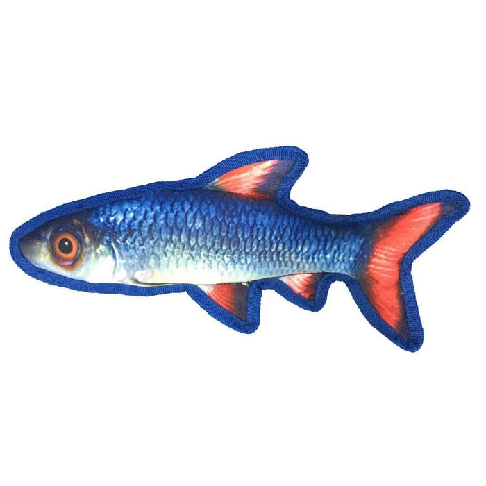 "12"" Tropical Shiner Dog Fish Toy"